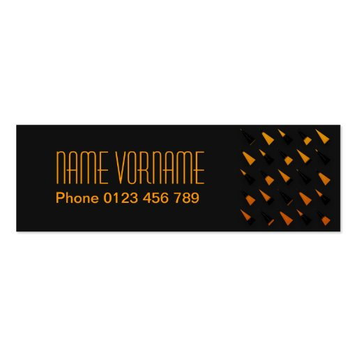yellow business card templates