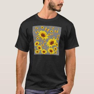 YELLOW BUTTERFLIES LOVE SUNFLOWERS T-Shirt
