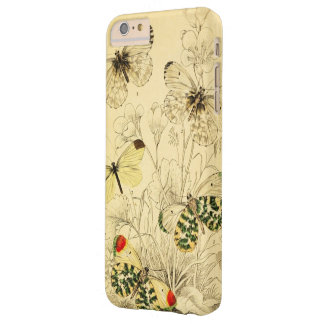 Yellow Butterfly Barely There iPhone 6 Plus Case