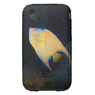 Yellow Butterfly Fish iPhone Case iPhone 3 Tough Cover