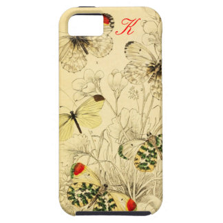 Yellow Butterfly iPhone 5 Case