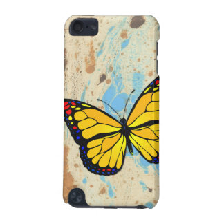 Yellow butterfly iPod touch 5G cover