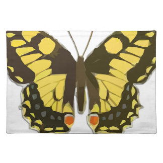 Yellow Butterfly Placemat