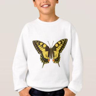 Yellow Butterfly Sweatshirt