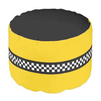 Yellow Cab Pouf