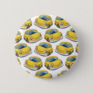 Yellow Cab Taxi 2 Inch Round Button