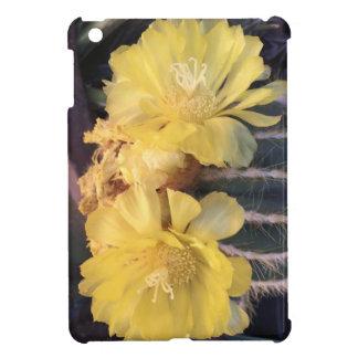 Yellow cactus flower iPad mini covers