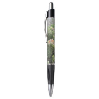Yellow Cactus Flower Pen