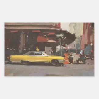 Yellow Cadillac 2012