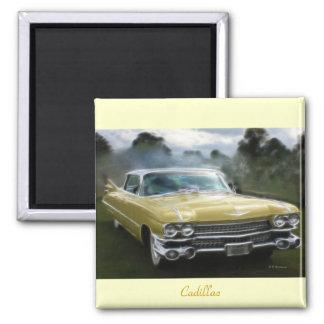 Yellow Cadillac Magnet