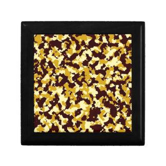 Yellow Camouflage Gift Box