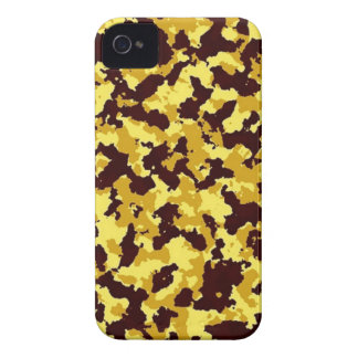Yellow Camouflage iPhone 4 Cover