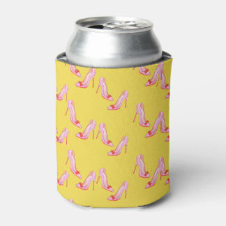 Yellow Can Bottle Cooler