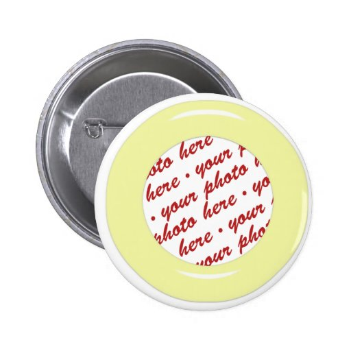 Yellow Candy Ring Photo Frame Template Pins