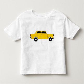 Yellow car tüt tüt toddler t-shirt
