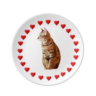 Yellow Cat Plate