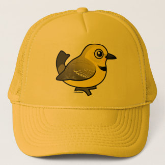 Yellow Chat Trucker Hat