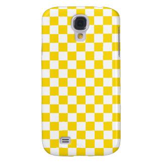 Yellow Checkerboard