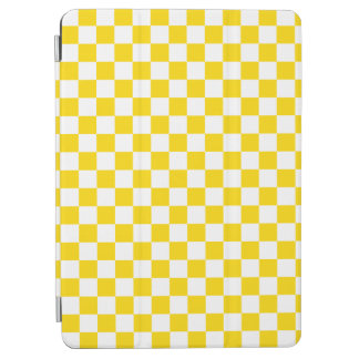 Yellow Checkerboard iPad Air Cover
