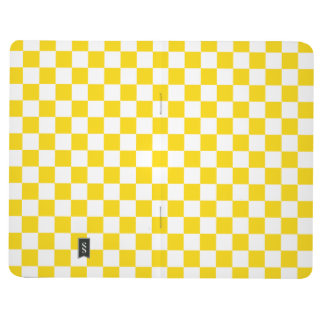 Yellow Checkerboard Journal