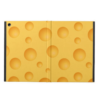 Yellow Cheese Pattern Case For iPad Air