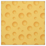 Yellow Cheese Pattern Fabric