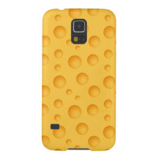 Yellow Cheese Pattern Galaxy S5 Cover