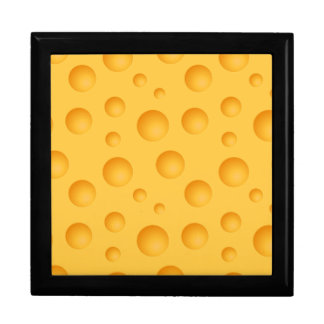 Yellow Cheese Pattern Gift Box