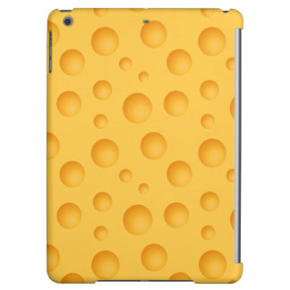 Yellow Cheese Pattern iPad Air Cover