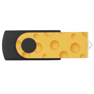 Yellow Cheese Pattern USB Flash Drive