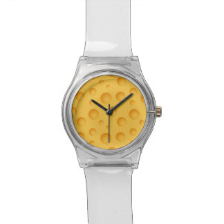 Yellow Cheese Pattern Watch