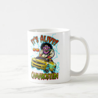 Yellow Chevy Camaro SS Double Sided Mug