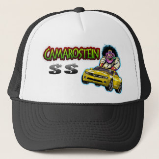 Yellow Chevy Camaro SS Hat