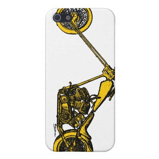 Yellow Chopper Style iPhone 5 Case