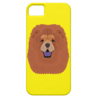 Yellow Chow Chow iPhone 5 Covers