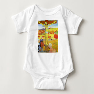 Yellow Christ 1889 Baby Bodysuit