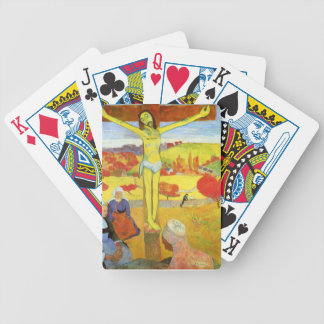 Yellow Christ 1889 Bicycle Playing Cards