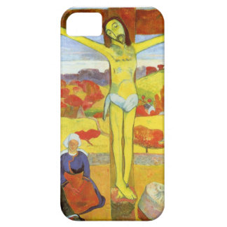 Yellow Christ 1889 iPhone 5 Case