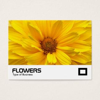 Yellow Chrysanthemum Business Card
