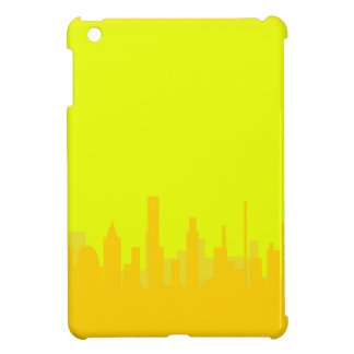 Yellow Cityscape Cover For The iPad Mini