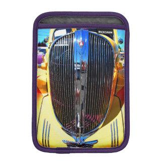 Yellow Classic Car iPad Mini Vertical Sleeve For iPad Mini