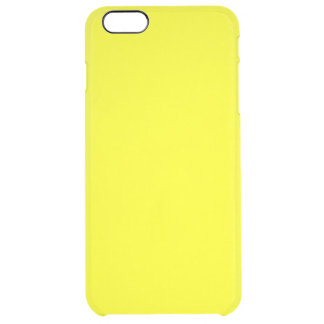 Yellow Clear iPhone 6 Plus Case