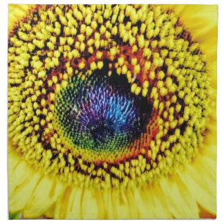 Yellow Closeup Napkin