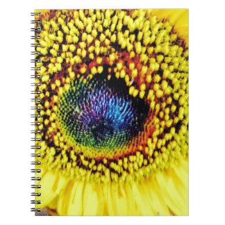 Yellow Closeup Notebook