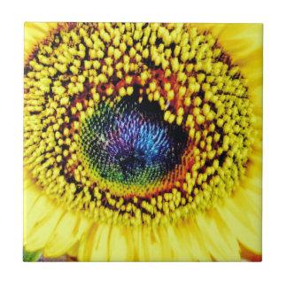 Yellow Closeup Tile