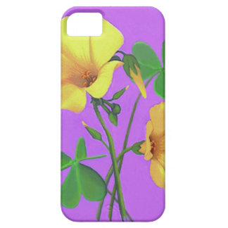 Yellow Clover Flower iPhone 5 Cover