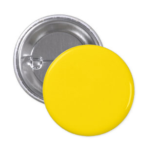 Yellow Color Small Round Pinback 1 Inch Round Button