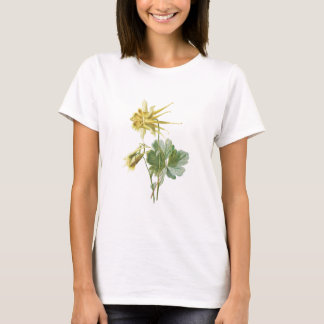 Yellow Columbine Flower T-Shirt