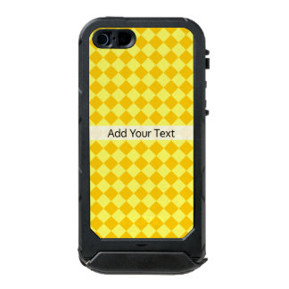 Yellow Combination Diamond Pattern by STaylor Incipio ATLAS ID™ iPhone 5 Case