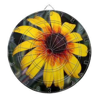 Yellow Coneflower Dart Board